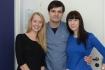 Валерий Стайсупов с сестрами-близнецами