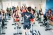 Участницы акции своим примером пропагандируют здоровый образ жизни
