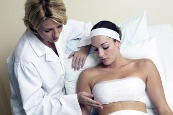 Отеки после маммопластики